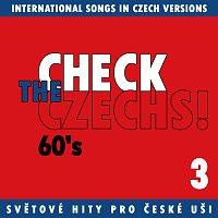 Přední strana obalu CD Check The Czechs! 60. léta - zahraniční songy v domácích verzích 3