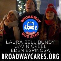 Laura Bell Bundy, Gavin Creel & Eden Espinosa – Christmas Broadway Bus Stop