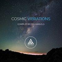 Přední strana obalu CD Cosmic Vibrations [Sampler 1]
