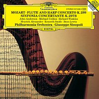 Kenneth Smith, Bryn Lewis, John Anderson, Michael Collins, Richard Watkins – Mozart: Flute & Harp Concerto K.299; Sinfonia concertante K.297b