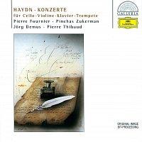 Přední strana obalu CD Haydn: Concertos for Cello, Violin, Piano & Trumpet