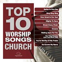 Různí interpreti – Top 10 Worship Songs - Church