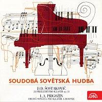 Dagmar Baloghová – Šostakovič: 24 preludií pro klavír, Prigožin: Sonáta č. 2 pro housle a klavír