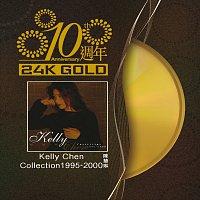 Přední strana obalu CD 10 Anniversary Kelly Chen Collection 1995-2000