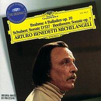 Arturo Benedetti Michelangeli – Brahms: 4 Ballades / Schubert: Sonata D537 / Beethoven: Sonata No.4