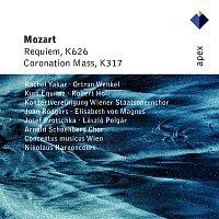 Rachel Yakar, Ortrun Wenkel, Kurt Equiluz, Robert Holl, Nikolaus Harnoncourt & Concentus Musicus, Wien – Mozart : Requiem & Mass No.16, 'Coronation'  -  Apex