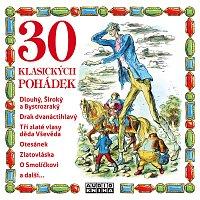 Přední strana obalu CD 30 klasických pohádek