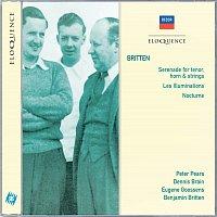 Sir Peter Pears, Dennis Brain, New Symphony Orchestra London, Eugene Goossens – Britten: Serenade for tenor, horn & strings; Les Illuminations; Nocturne
