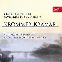 Vlastimil Mareš, Jiří Hlaváč, Pražský komorní orchestr, Libor Pešek – Krommer-Kramář: Koncerty pro klarinet