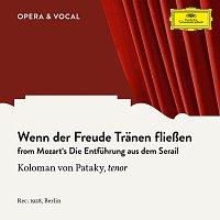 Koloman Von Pataky, Unknown Orchestra – Mozart: Die Entfuhrung aus dem Serail: Wenn der Freude Tranen flieszen
