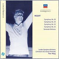 L'Orchestre de la Suisse Romande, London Symphony Orchestra, Peter Maag – Mozart: Symphonies Nos.28, 29, 34 & 32; Serenata Notturna