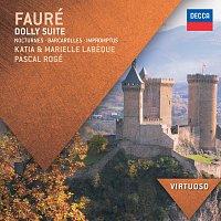 Katia Labeque, Marielle Labeque, Pascal Rogé – Fauré: Dolly Suite; Nocturnes; Barcarolles; Impromptus