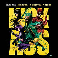 Přední strana obalu CD Kick Ass: Music From the Motion Picture [Intl digital (no dialogue - diff cover)]