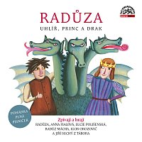 Přední strana obalu CD Radůza: Uhlíř, princ a drak