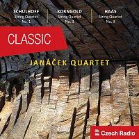 Janáček Quartet – Janáček Quartet plays Schulhoff, Korngold, Haas