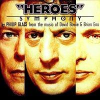 Přední strana obalu CD Philip Glass: Heroes Symphony