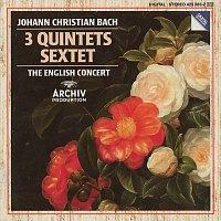 Přední strana obalu CD J. Chr. Bach: Quintet Op.22 No.1; Quintet Op.11 Nos. 1 & 6; Sextet Without Op. No.