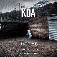 Přední strana obalu CD Hate Me (feat. Patrick Cash) [DVA Hi:Emotions Remix]
