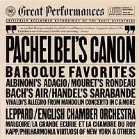Andre Saint-Olivier, Christian Schneider, Jean-Claude Malgoire, Antonio Vivaldi, La Grande Ecurie et la Chambre du Roy – Great Baroque Favorites: Pachelbel's Canon