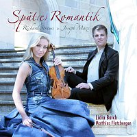 Přední strana obalu CD Lidia Baich Matthias Fletzberger Spat(e) Romantik