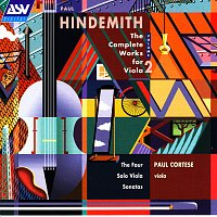 Paul Cortese – Hindemith: The Complete Works for Viola, Vol. 2: The 4 Solo Viola Sonatas