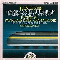 Česká filharmonie, Serge Baudo – Honegger: Symfonie č. 3 Liturgická a Symfonie č. 5, Pacific 23