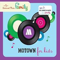 Přední strana obalu CD Motown For Kids