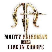 Přední strana obalu CD Live - Exhibit A