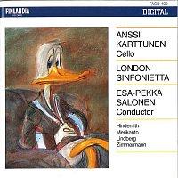 Anssi Karttunen, London Sinfonietta – Hindemith, A. Merikanto, Lindberg, Zimmermann