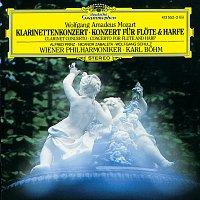 Přední strana obalu CD Mozart: Clarinet Concerto K.622; Flute & Harp Concerto K.299