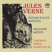 Různí interpreti – Verne: Patnáctiletý kapitán, Ocelové město, Tajemný hrad v Karpatech