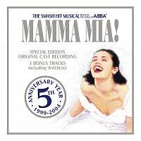 Přední strana obalu CD Mamma Mia