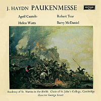 "George Guest, April Cantelo, Helen Watts, Robert Tear, Barry McDaniel – Haydn: Missa in tempore belli - ""Paukenmesse"" / M. Haydn: Ave Regina"