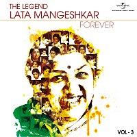 Přední strana obalu CD The Legend Forever - Lata Mangeshkar - Vol.3
