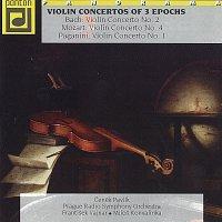Bach, Mozart, Paganini: Houslové koncerty tří epoch