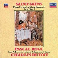 Pascal Rogé, Royal Philharmonic Orchestra, Philharmonia Orchestra, Charles Dutoit – Saint-Saens: Piano Concertos Nos.2, 4 & 5