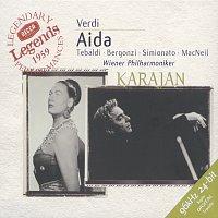 Renata Tebaldi, Giulietta Simionato, Carlo Bergonzi, Wiener Philharmoniker – Verdi: Aida
