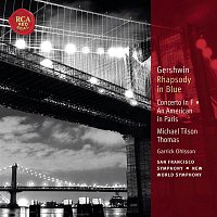 Michael Tilson Thomas, Garrick Ohlsson – Gershwin: Rhapsody in Blue; Concerto in F; An American in Paris: Classic Library Series
