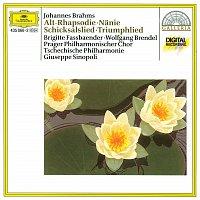 Brigitte Fassbaender, Wolfgang Brendel, Prague Philharmonic Chorus, Lubomír Mátl – Brahms: Altrhapsodie / Schicksalslied / Triumphlied