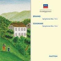 Wiener Philharmoniker, London Symphony Orchestra, Josef Krips – Brahms: Symphonies Nos.1 & 4; Schumann: Symphonies Nos.1 & 4