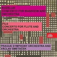Symfonický orchestr hl.m. Prahy (FOK)/Václav Smetáček – Koželuh: Koncert pro fagot a orchestr / Fils: Koncert pro flétnu a orchestr