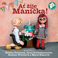 Přední strana obalu CD Ať žije Mánička!
