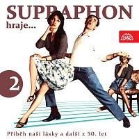 Přední strana obalu CD Supraphon hraje... Příběh naší lásky a další z 50. let 2