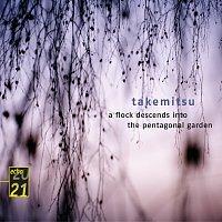 Přední strana obalu CD Takemitsu: Quatrain; A Flock descends