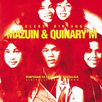Přední strana obalu CD Koleksi Bintang Mazuin & Quinary M