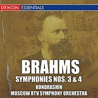 Kyril Kondrashin, Moscow RTV Symphony Orchestra – Brahms: Symphonies Nos. 3 & 4