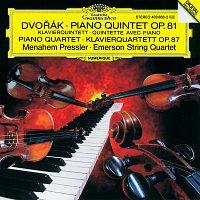 Emerson String Quartet, Menahem Pressler – Dvorák: Piano Quintet, Op. 81 / Piano Quartet, Op. 87