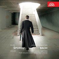 Přední strana obalu CD Bach: Sonáty a partity