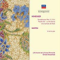 Přední strana obalu CD Honegger: Le Roi David; Symphonies Nos.2, 3 & 4; Pacific 231; Martin: In Terra Pax