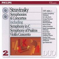 Různí interpreti – Stravinsky: Symphonies & Concertos